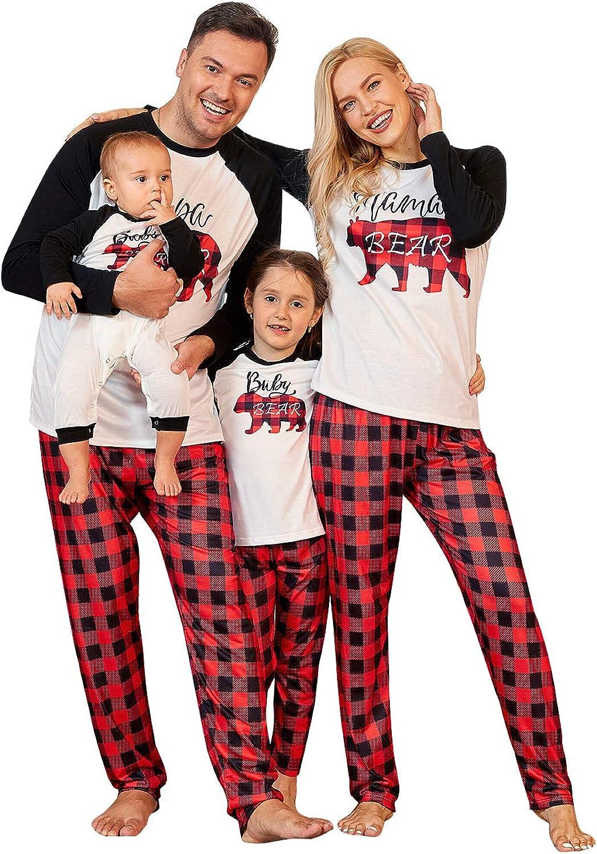 PopReal Arlington Mall Family Pajamas Free shipping New Matching PJs Christmas with Sets