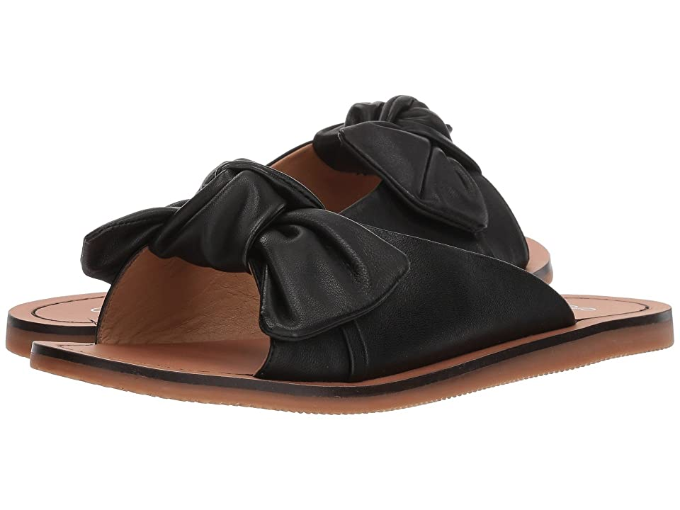 Seychelles Childlike Enthusiasm (Black Leather) Women