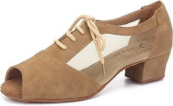Pro Dancer Women Ballroom Dancing Shoes Salsa Sandals Latin Dance Practice Shoe