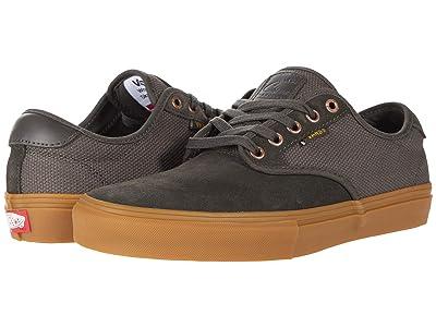 Vans Chima Ferguson Pro (Olive/Gum) Skate Shoes