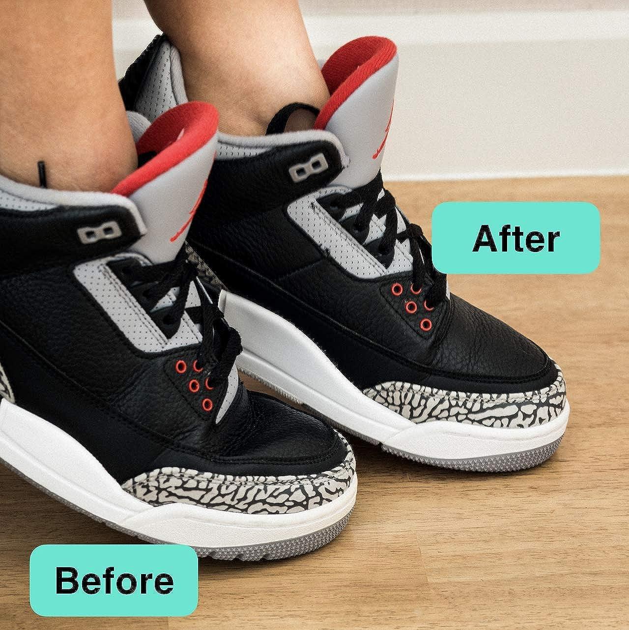Wilkins Shoe Crease Protector - (2 pairs) Toe Box Decreaser And Crease Protectors