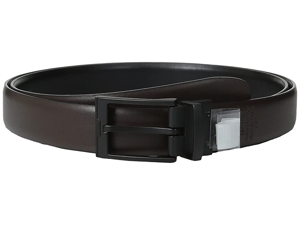 Perry Ellis Portfolio - Perry Ellis Portfolio Buckle Reversible Big Tall Dress Belt