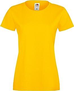 comprar comparacion Fruit of the Loom - Camiseta de Manga Corta Sofspun para Chica