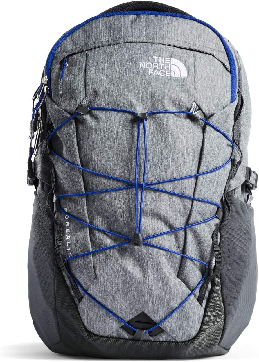 """The North Face Borealis Backpack TNF Mid Grey Heather/Marker Blue 15""""Laptop OS"""