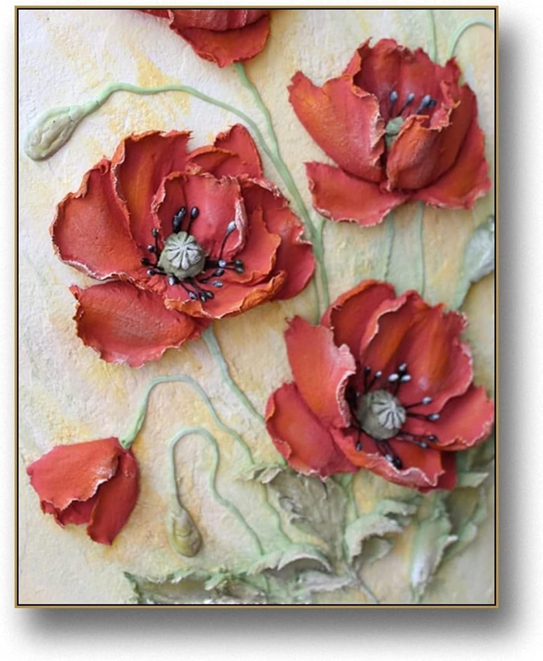 litu Photo Frame Flowers Max 41% OFF Plants Regular discount Wall and Poster Art Picture Prin
