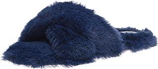 Nine West Women's Cozy Slipper, Navy404, 5