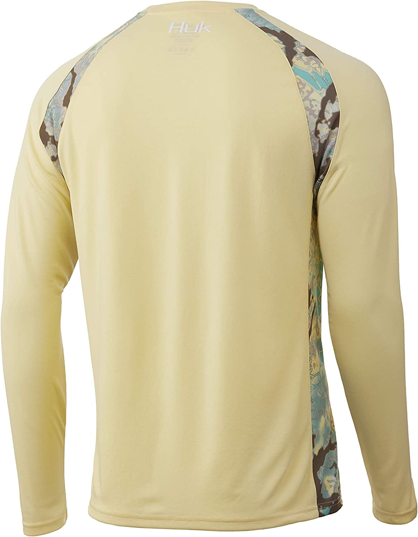 Huk Men/'s Small Kryptek Obskura Loki Strike Long Sleeve Shirt