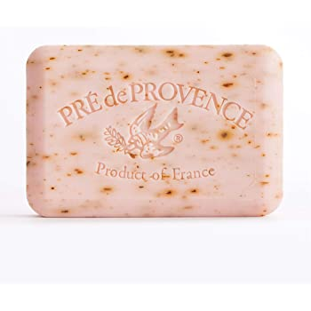 Pre de Provence Artisanal French Soap Bar Enriched with Shea Butter, Rose Petal, 250 Gram