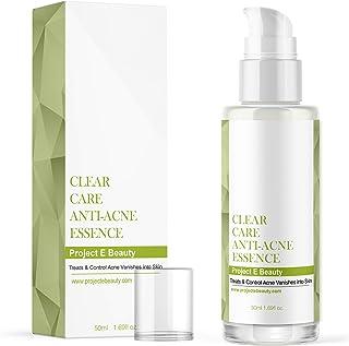 Project E Beauty Clear Care Acne Treatment Essence   Skin Care Facial Clear Acne Pimple Oil Free Gel Treatment 50ml 1.7oz