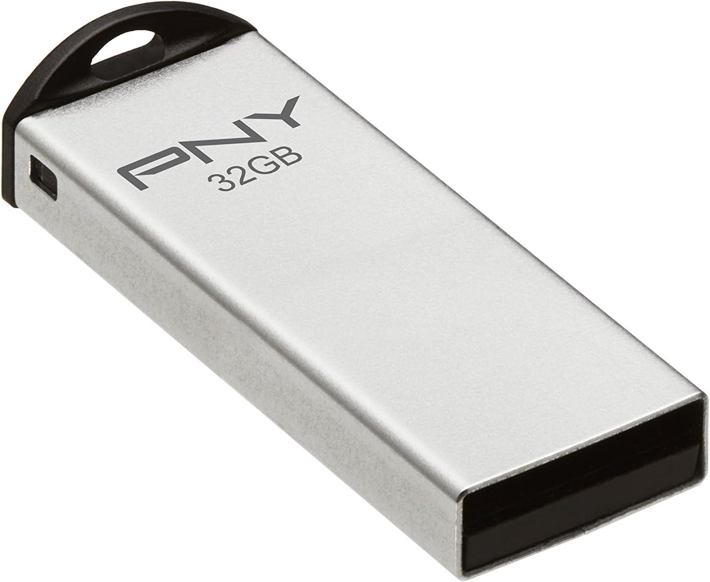 PNY Metal Attaché 32GB Manufacturer regenerated product USB Drive- High order P-FDU32G Flash APPM 2.0