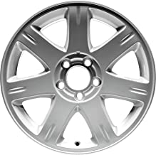 Partsynergy Replacement For New Replica Aluminum Alloy Wheel Rim 17 Inch Fits 2005-2008 Chrysler 300 5 Lug 115mm 7 Spokes
