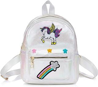 Mochila Infantil Unicornio, Mochilas de la Escuela Unicornio, Regalos para Niñas,Bolsos del Estudiante del Arco Iris del Unicornio de la Moda de la fantasía,Para Escuela/Viajes