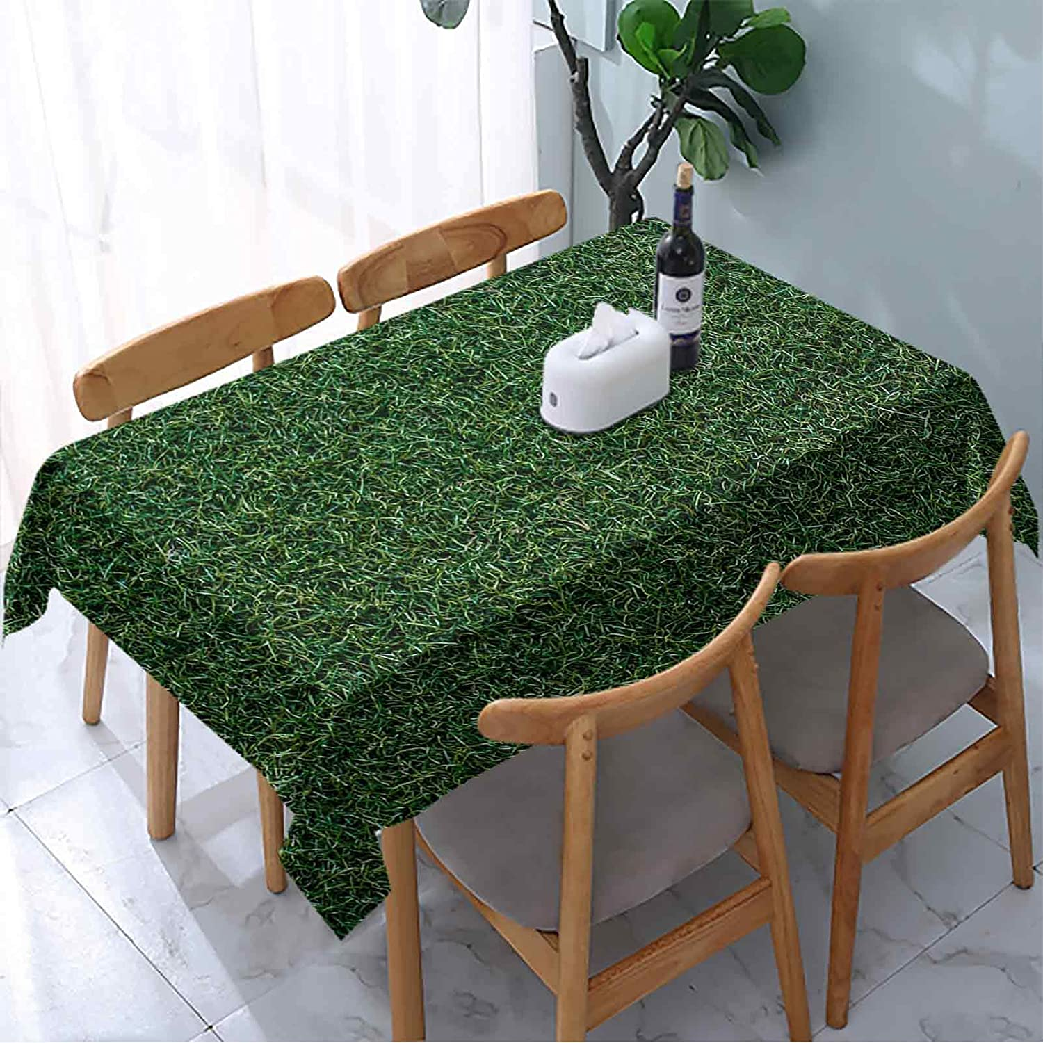 Textura sold out Table Cover Green Grass lowest price Background Texture and Illustra