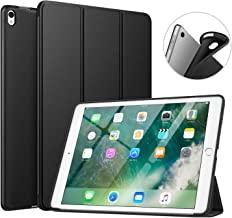 """MoKo New iPad Air (3rd Generation) 10.5"""" 2019 / iPad PRO 10.5 2017 Case, Custodia Cover Sottile Leggero con Protezione Posteriore Traslucida Glassata - Nero"""