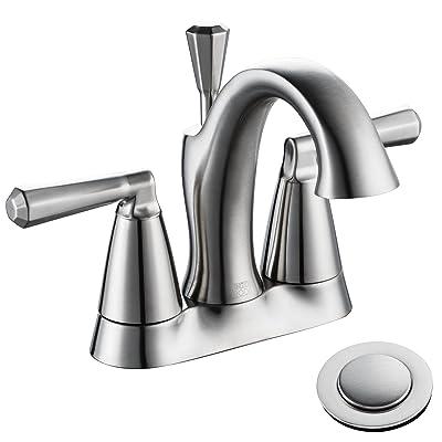 ENZO RODI Bathroom Faucet, Two-Handle 4-inch Ce...