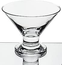Red Co Serverware 6-Piece Mini Martini Footed Dessert Glass Set, 5.5 Ounce