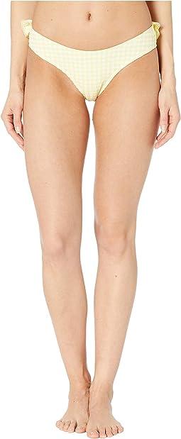 Gingham Bikini Bottoms