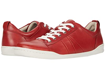 SoftWalk Athens (Dark Red Leather) Women