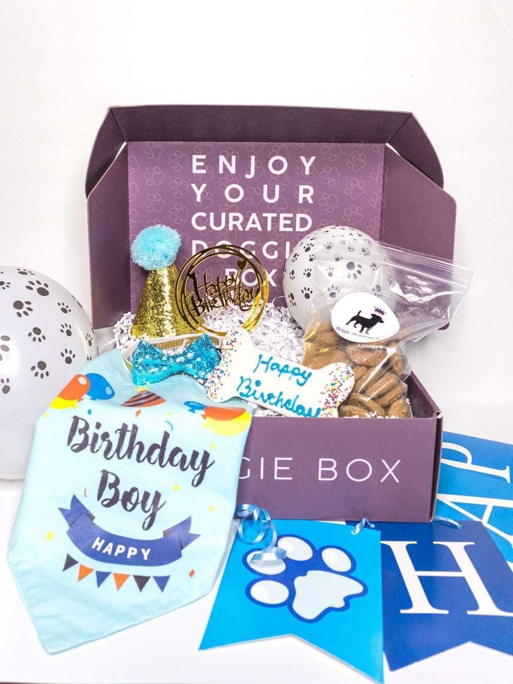 Max 71% OFF Dogs Deserve It Dog Birthday Including Supplies cheap and Decorations