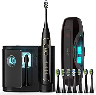 Best rechargeable sonic toothbrush with uv sanitizer Reviews
