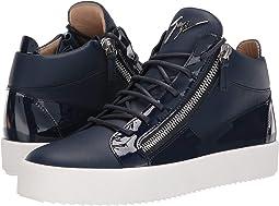 fcfb20a1216 May London Mid Top Zayn Sneaker.  825.00. Luxury. Space
