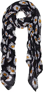 Best daisy print scarf Reviews