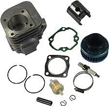 JDMSPEED New Cylinder Piston Kit Pin Clips Gaskets for Polaris ATV 90 Sportsman 2001-06 90CC