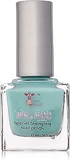 Mini Mani Moo Special Stamping Polish, Aqua, 0.5 Ounce