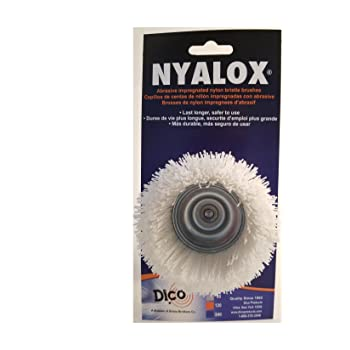 Dico Products 720083 Nonabrasive Cup Brush White Divine Brothers 7200083
