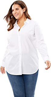 Women's Plus Size Perfect Button Down Shirt