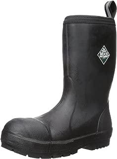 Muck Boot Chore Oil, Chemical & Slip Resistant Steel Toe Men's Rubber Work Boot