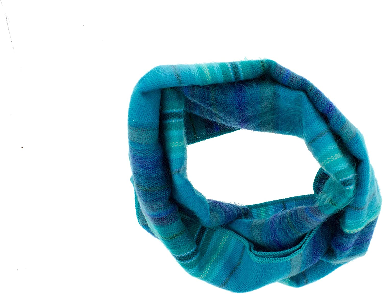 Terra Natural Designs - Striped Infinity Scarf