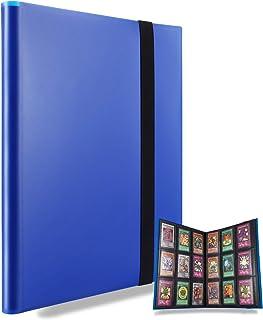 Album de scrapbooking pour 360 cartes (bleu)