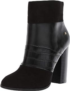 Callisto Women's Academy Fashion Boot, black/black crocodile, 5 M US