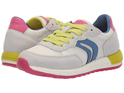 Geox Kids Alben 5 (Little Kid) (White) Girl