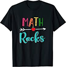 Math Rocks Teacher Back To School T-Shirt