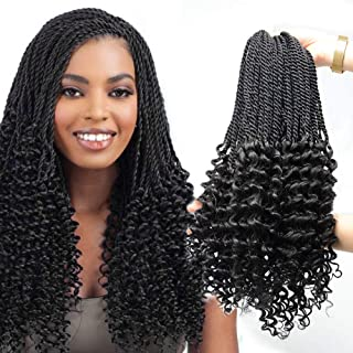 Best angels deep wave crochet hair Reviews