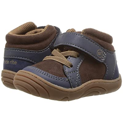 Stride Rite Ethan (Infant/Toddler) (Navy/Brown) Boy