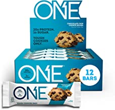 ISS Research Oh Yeah One Nutrition Bar Chocolate Chip Cookie Dough 12-Piece