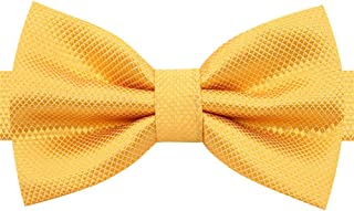 8417ae5f0e49 Bow tie for Men Boys-Adjustable Pre-Tied Bow Ties for Formal Tuxedo Suit