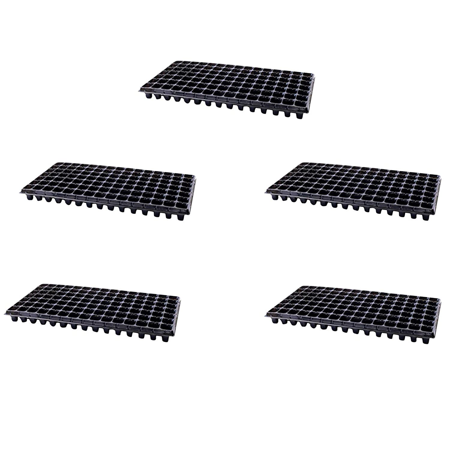Seed Starter Trays 105 overseas Cell Max 53% OFF Ge Seedling Gardening Plastic