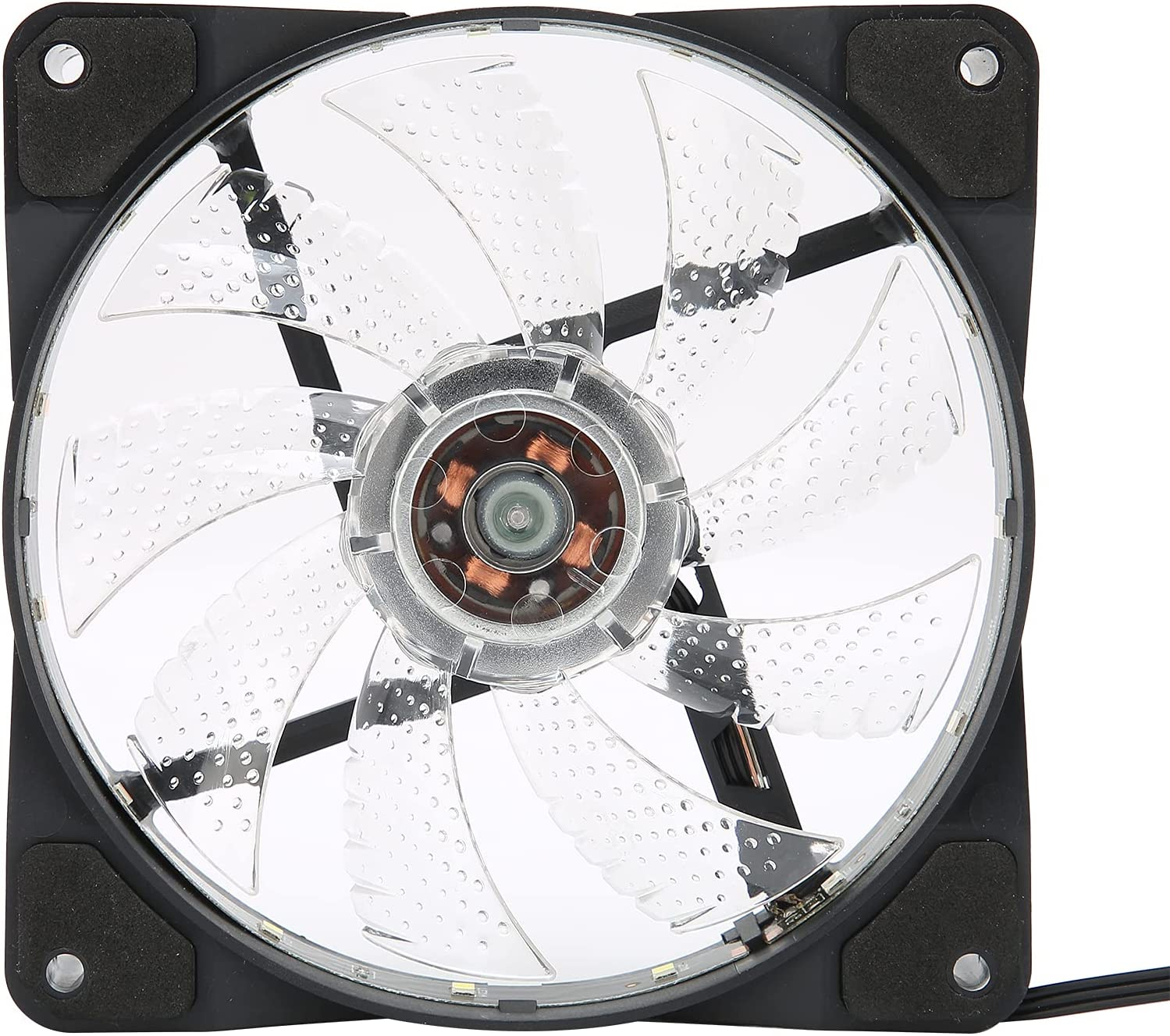 Very popular! Computer Case Fan Sale Special Price DC 12V Big 4pin+3pin Glowing 9 La Blades Cool