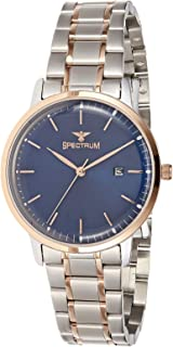 Spectrum Women's Blue Dial Stainless Steel Band Watch - 25157L-4