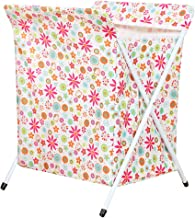 Outgeek Laundry Hamper Foldable Dirty Clothes Storage Hamper Laundry Basket With X Frame One Size Multicolor 1
