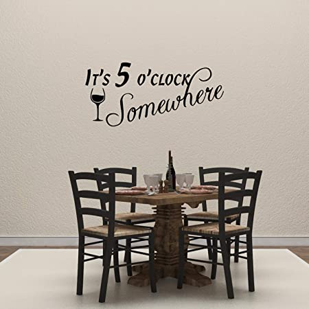 Funny Alcohol Drinking Drinks Well With Others Wall Decal Bar Kitchen