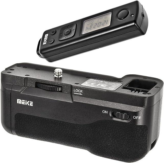 Empuñadura de batería Empuñadura de batería battery grip para Sony Alpha A6500+ Disparador Remoto con 2.4GHz Radio Frecuencia–MK de A6500Pro–Meike
