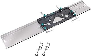 Wolfcraft 6910000 1 FKS 115 styrskena för cirkulära handsågar med 2 klämmor 1,150 x 45 x 220 mm