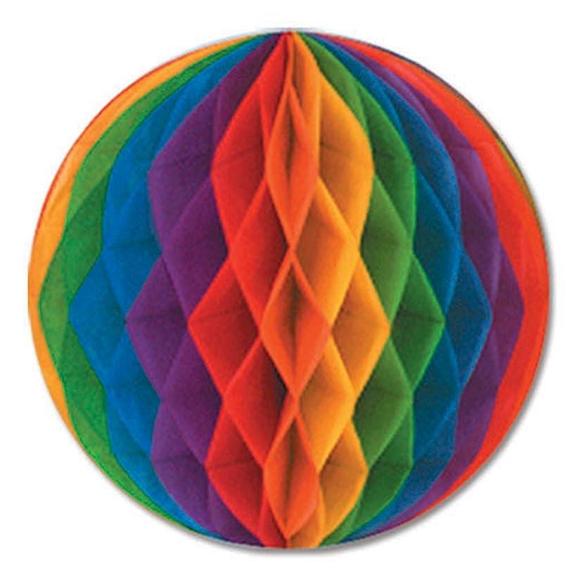 Beistle 55614-RB 12-Piece Tissue Balls, 14-Inch