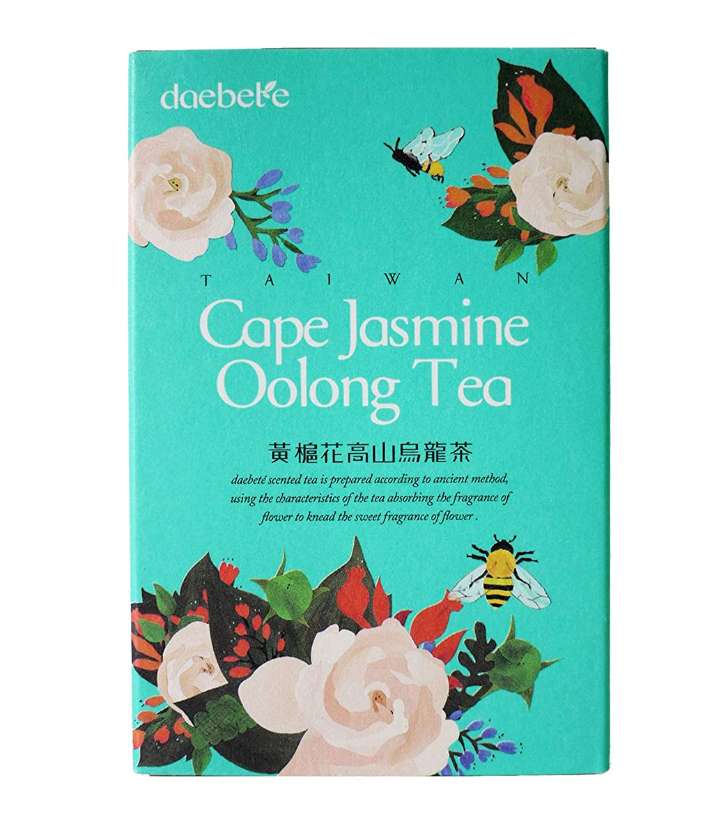 Taiwan Flower Oolong Tea (Cape Jasmine)