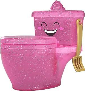 comprar comparacion Pooparoos, mascotas de juguete sorpresa con inodoros (Mattel FWN06), Surtido, Colores Aleatorios